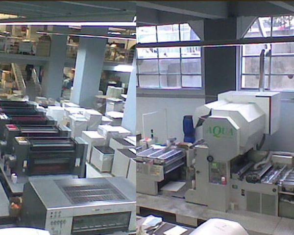 offset printing and lamination machines